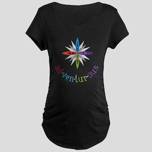 Adventurous Maternity Dark T-Shirt