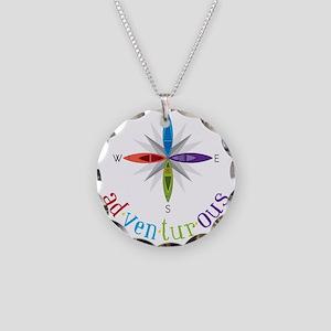 Adventurous Necklace Circle Charm