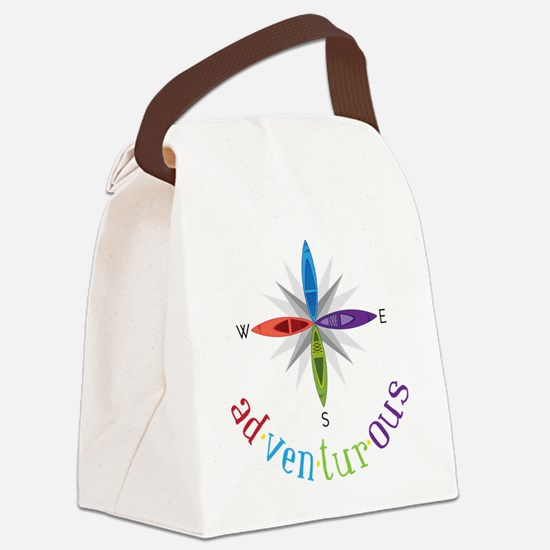 Adventurous Canvas Lunch Bag