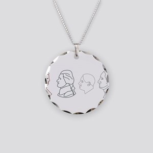 I Have Coins Necklace Circle Charm