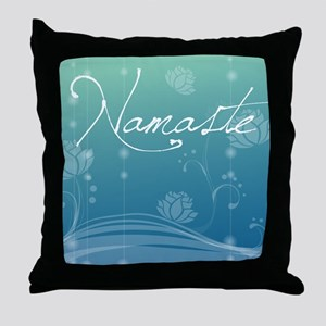 Namaste Queen Duvet Throw Pillow