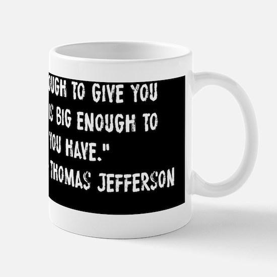 Thomas Jefferson Big Government Mug