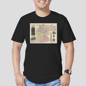 Vintage Map of Newark NJ (1879) T-Shirt