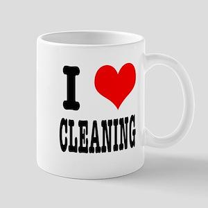 I Heart (Love) Cleaning Mug