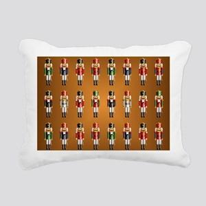 Nutcracker Rug Rectangular Canvas Pillow