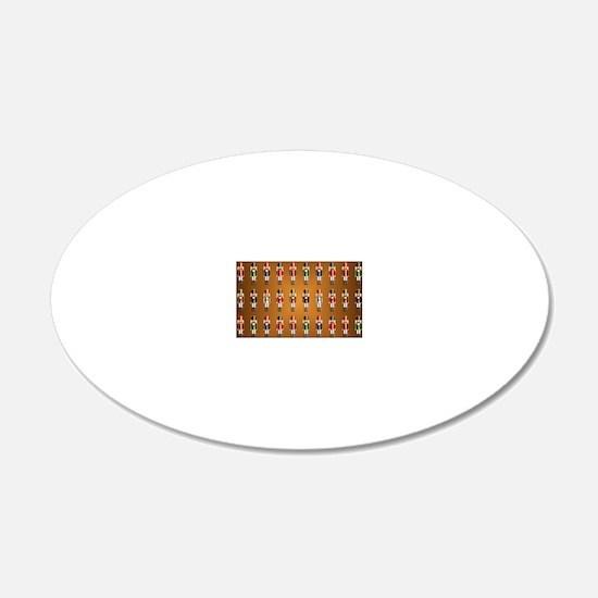 Nutcracker Rug Wall Decal