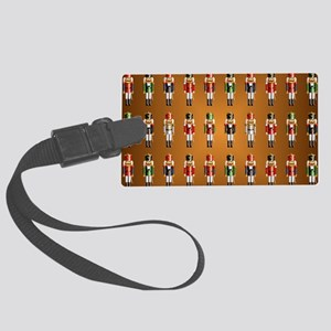Nutcracker Rug Large Luggage Tag