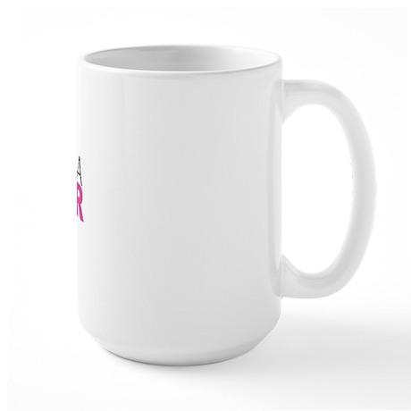 My Girlfriend Is A Survivor Large Mug