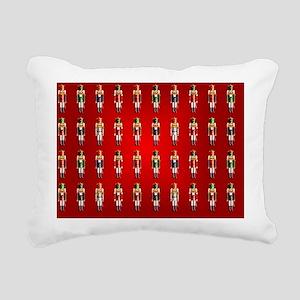 Nutcracker Rug 2 Rectangular Canvas Pillow