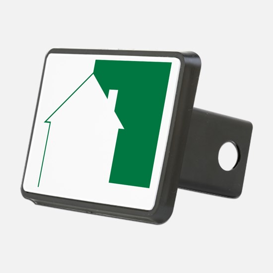 Green Team House Icon Hitch Cover