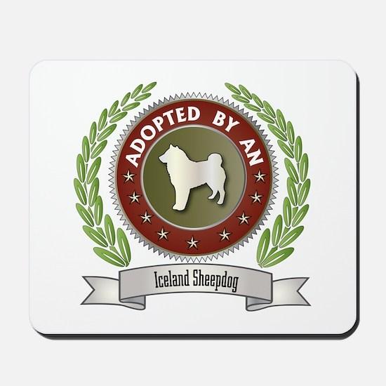 Sheepdog Adopted Mousepad