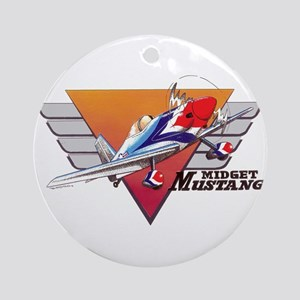 MIDGET MUSTANG Ornament (Round)