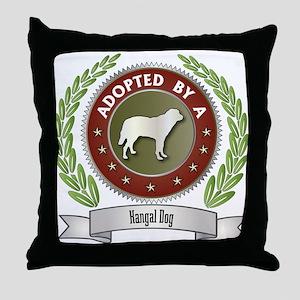 Kangal Adopted Throw Pillow