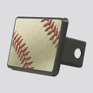 Baseball Rectangular Hitch Cover