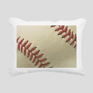 Baseball Rectangular Canvas Pillow