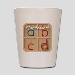 Mobile Montessori - Movable Alphabet ic Shot Glass