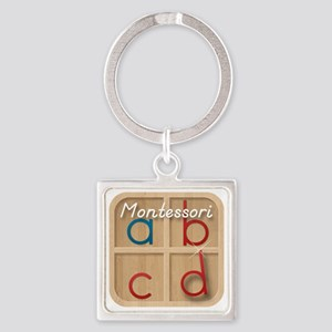 Mobile Montessori - Movable Alphab Square Keychain