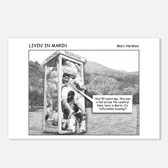 Livin' In Marin Postcards (Package of 8)
