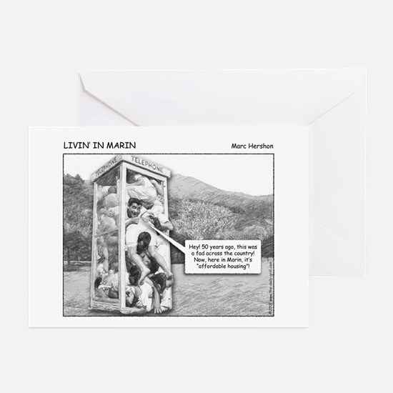 Livin' In Marin Greeting Cards (Pk of 10)