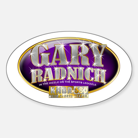 Gary Radnich Oval Decal