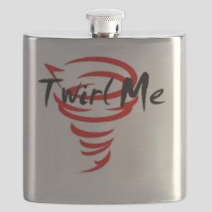 Twirl Me Flask