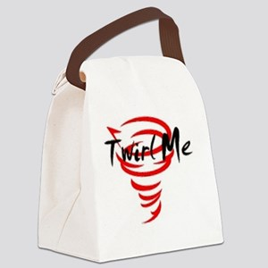 Twirl Me Canvas Lunch Bag