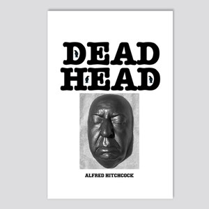 DEAD HEAD - ALFRED HITCHC Postcards (Package of 8)