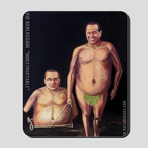 Silvio Berlusconi Mousepad
