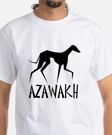 Azawakh White T-Shirt