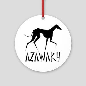 Azawakh Round Ornament