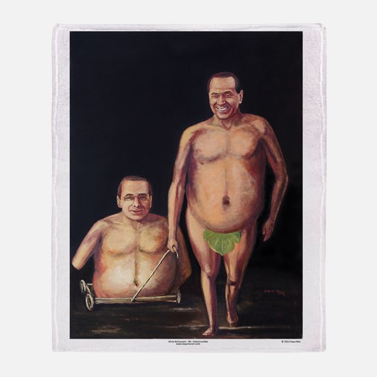 Silvio Berlusconi Throw Blanket