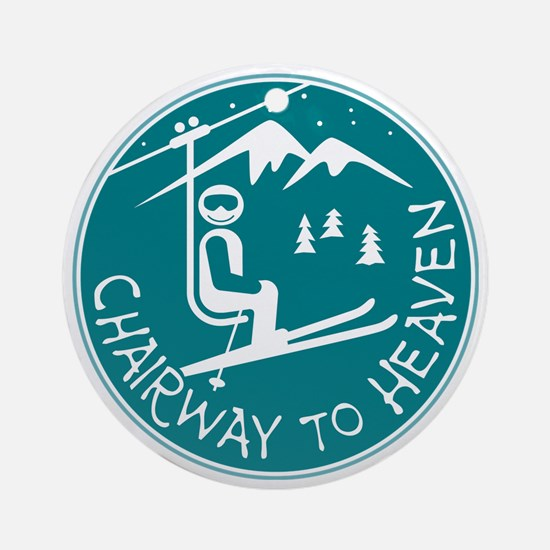Chairway to Heaven Round Ornament