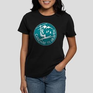 Chairway to Heaven Women's Dark T-Shirt