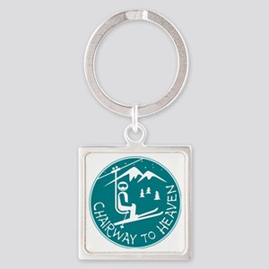 Chairway to Heaven Square Keychain