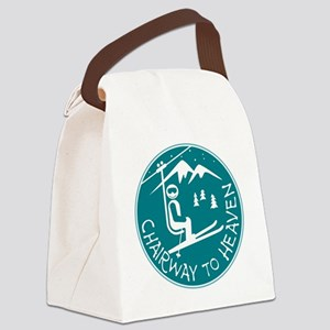 Chairway to Heaven Canvas Lunch Bag