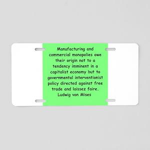 10 Aluminum License Plate