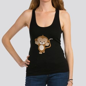 Monkey Boy 1 Racerback Tank Top