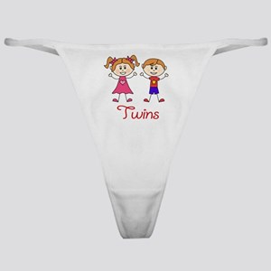 Fraternal Twins Brother and Sister Classic Thong