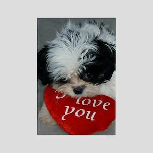 Chrissy ---I Love You Rectangle Magnet