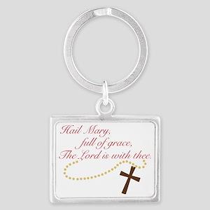 Rosary Landscape Keychain