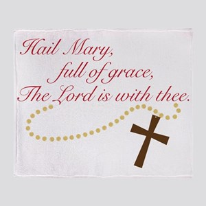 Rosary Throw Blanket