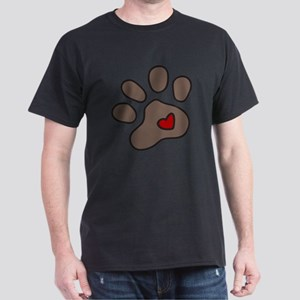 Puppy Paw Dark T-Shirt