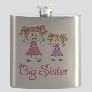 Big Sister with Little Sister Flask