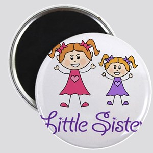 Little Sister with Big sister Magnet