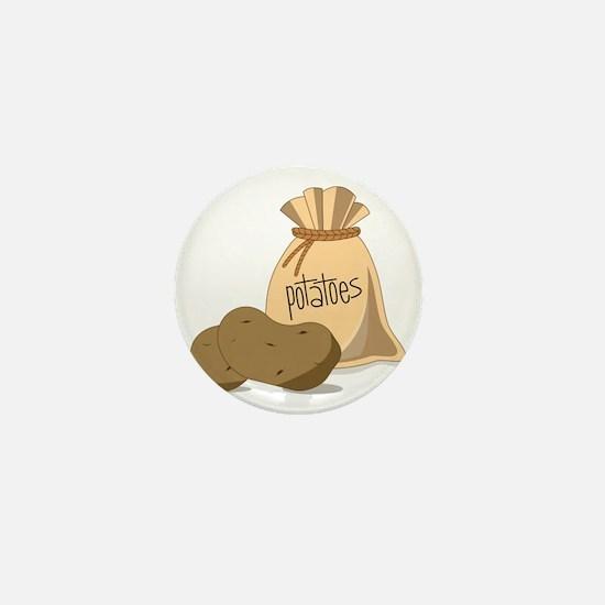 Potatoes Mini Button