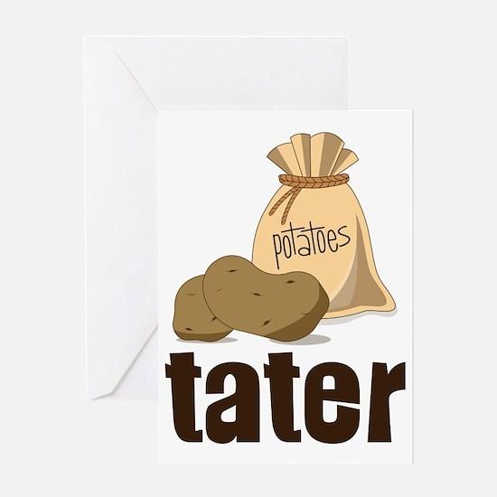Tater Greeting Card
