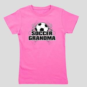 Soccer Grandma (cross) Girl's Tee