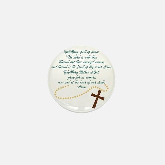 Hail Mary Mini Button