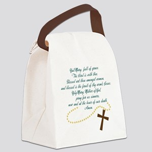 Hail Mary Canvas Lunch Bag