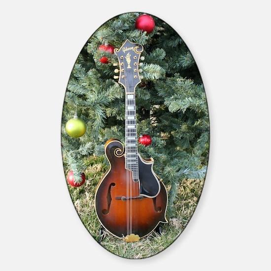 Gibson Mandolin Under the Christmas Sticker (Oval)